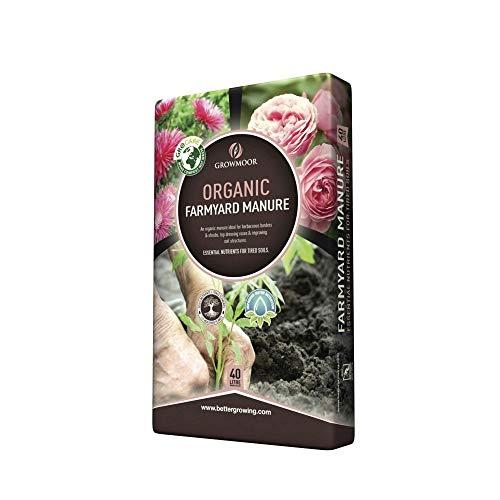 GROWMOOR Organic Farmyard Manure 40L