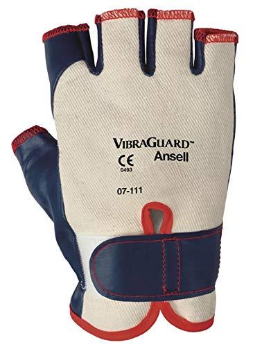 Ansell VibraGuard 07-111 guanti protezione meccanica, Dimensione:10