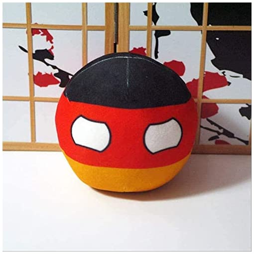 N/D Polandball Plush Toys Anime Countryball Short Plush Doll Mini Pillow Cosplay for Gift- 20CM G-20CM_V Home Decoration