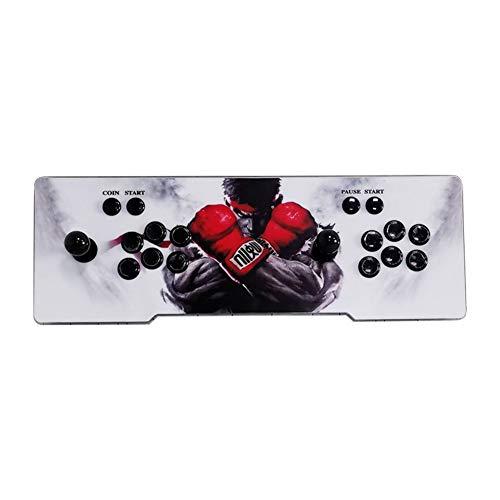 Blue-Yan Arcade Videojuegos Consola Incorporada 1388 Juegos Retro Pandora's Box 6s Arcade Machine Última versión Soporte Full HD | Controles de Juego de 2 Jugadores | HDMI/VGA/USB