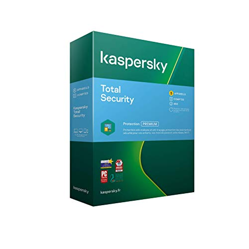 Kaspersky Total Security 2021 (5 Postes / 2 Ans)