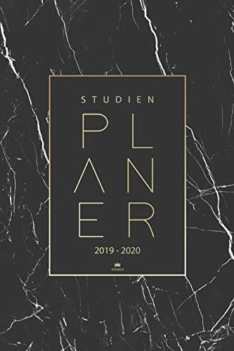 Studienplaner 2019 2020: Taschenkalender, Studentenkalender und Semesterkalender 2019 - 2020 | Planer, Terminplaner und Kalender von August 2019 bis September 2020