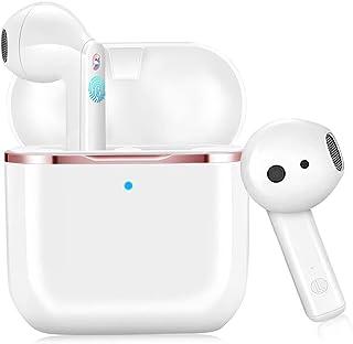 Auriculares Inalámbricos Bluetooth 5.1, TWS In-Ear Auriculares Estéreo HI-FI con Micrófono IPX6 Impermeable de Reproducció...