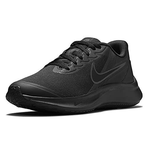 Nike Star Runner 3, Chaussure de Gymnastique, Black/Black-DK Smoke Grey, 39 EU