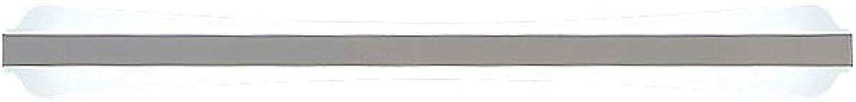 J.SUNUN Acryl-LED-Spiegelleuchte, LED-Spiegelleuchte Badezimmerwandleuchte mit Acrylmaterial für Badspiegelfrontbeleuchtung 220V (Farbe   Weies Licht, Gre   80cm 26W)
