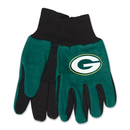 Wincraft Green Bay Packers Two Tone Gloves 6b2faba62