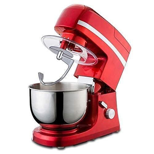 Robot da Cucina con Supporto Robot da Cucina Multifunzione in Acciaio Inox con Testa inclinabile 5L Macchina per Chef Frullino per Le Uova, Impastatrice, Tritacarne/caffè