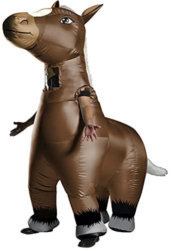 Rubie's Unisex Mr Horsey Inflatable Horse, Multicoloured, Standard