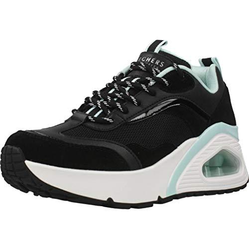Skechers Calzado Deportivo Mujer UNO HI - Big Steps para Mujer Negro 41 EU