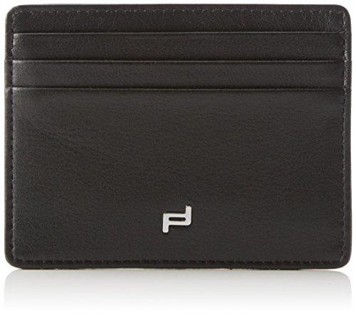 Porsche Design Herren Touch CardHolder SH6 Ausweis- & Kartenhüllen, Schwarz (black 900), 10x8x1 cm
