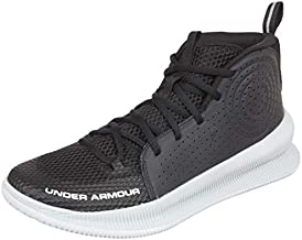 Under Armour Men's Jet 2019 Basketball Shoe, Black (005)/Halo Gray, 10