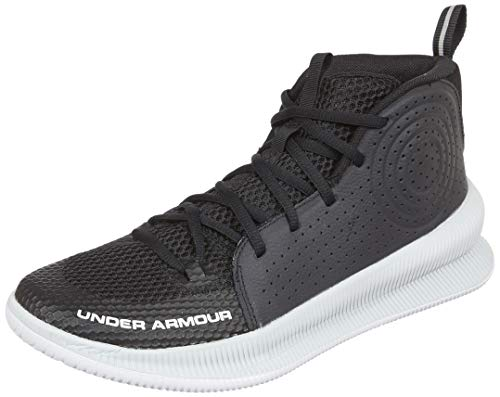 Under Armour Herren UA Jet Basketballschuhe, Schwarz (Black/Halo Gray/Halo Gray (005) 005), 42 EU