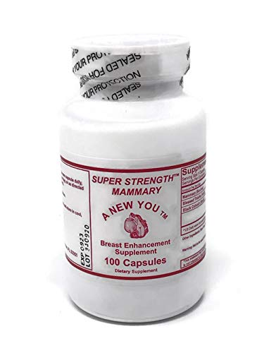 Super Strength Mammary Pills for Crossdressing Men and Trans-Women 100 Count Capsules