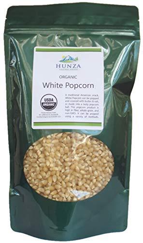 Hunza Organic White Popcorn (2-lbs)