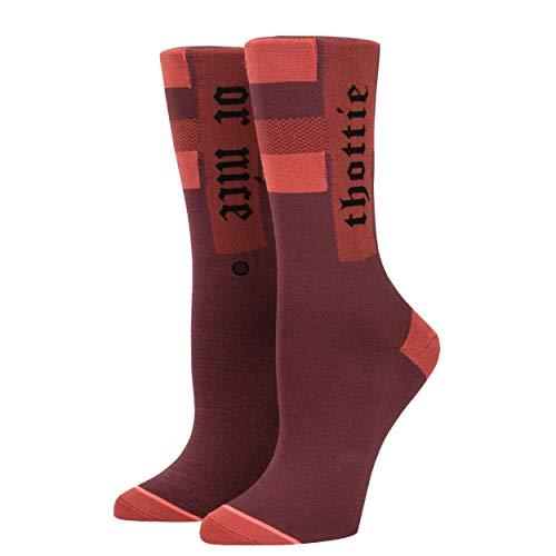 Stance Rihanna The Thottie Socks - Wine Small