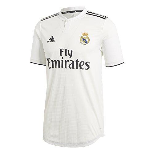 adidas Real H JSY Au Camiseta, Hombre, Multicolor (Blabas/Negro), M