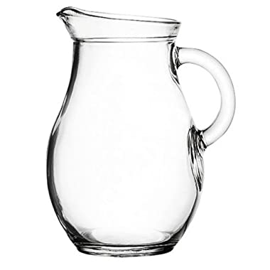 Mini Glass Pitcher 9 ounces - 5  High. Child Sized.