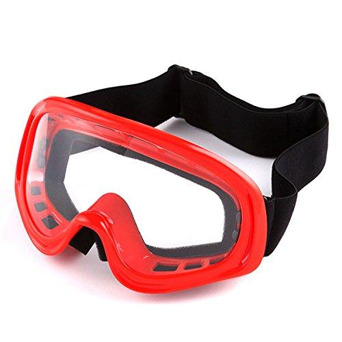 Product Image 8: 1Storm Motocross Adult Helmet BMX MX ATV Dirt Bike Helmet Racing Red + Goggles + Skeleton Red Glove Bundle
