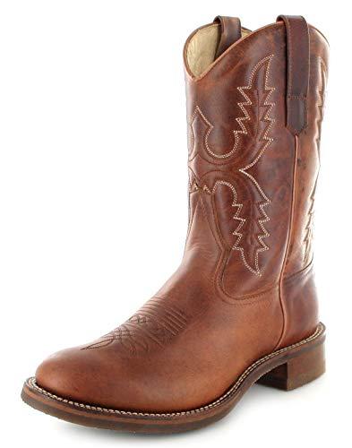 Sendra Boots Damen Stiefel 11615 Tang Westernreitstiefel Braun 42 EU