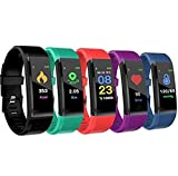 GUAGLL Unisex Smart Bracelet Bluetooth Sports Waterproof Electronic Bracelet Smart Watch