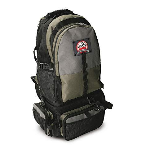 Rapala 3-IN-1 Combo Bag 31x67x26cm - Angelrucksack für Kunstköder & Tackle, Angeltasche für Raubfischangler, Kunstködertasche, Rucksack für Angler
