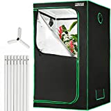 MOTLEY HOME Indoor Grow Tent (36'x36'x72'), Hydroponic Plant Growing Tent with Observation Window and Waterproof Floor...