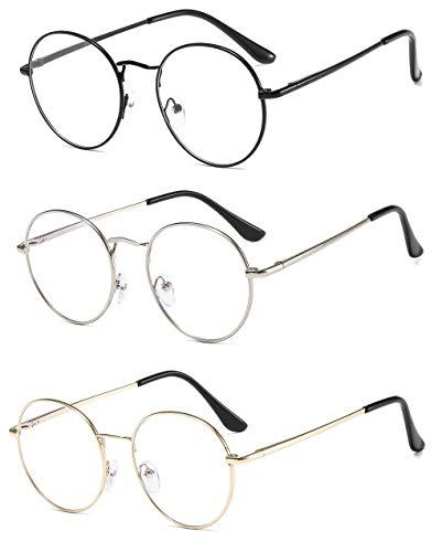 Flydo Blaulichtfilter brille computerbrille zum Blockieren von UV-Kopfschmerz Gaming Brille für Herren Damen Blau Licht Blockierende Computer Brille Blaulichtfilter