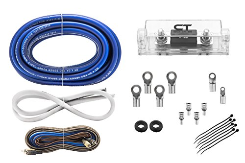 4 Gauge Complete Installation 4GA Pro Amplifier Wire kit