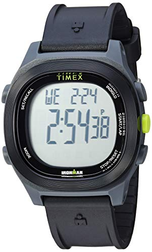 Timex TW5M18900 Men's Ironman Transit Essential 10 Black Resin Strap Watch
