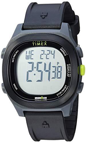 Timex TW5M18900 Ironman Transit - Orologio da uomo con cinturino in resina nera
