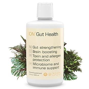 ION*Gut Health | Promotes Digestive Wellness Strengthens Immune Function Alleviates Gluten Sensitivity Enhances Mental Clarity | 2-Month Supply  32 oz