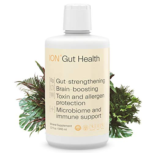 ION*Gut Health   Promotes Digestive Wellness, Strengthens Immune Function, Alleviates Gluten Sensitivity, Enhances Mental Clarity   2-Month Supply (32 oz.)