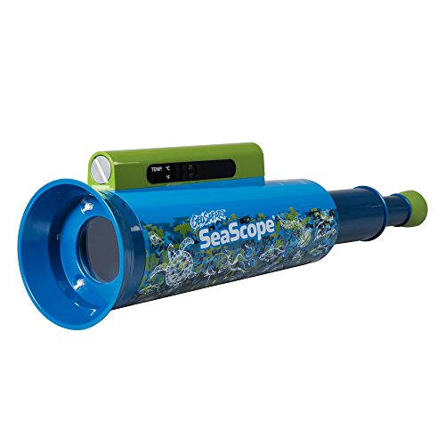 Educational Insights GeoSafari SeaScope, Explore Underwater Without Getting Wet, Includes Magnifier & LED Flashlight, Ages 8+