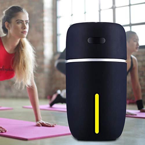 IROSE White Dolphin Mini USB Humidificador De Aire Difusor De Aroma con Cambio De Evaporador De Aire Led, Aceite Esencial De Coche, Difusor De Aroma