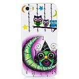 KDNNN Art- und Weisebunter Ölgemälde-Matttelefon-Kasten für iPhone X 6 6S 7 8 Plus kühle künstlerische Graffitischutz rückseitige Abdeckung