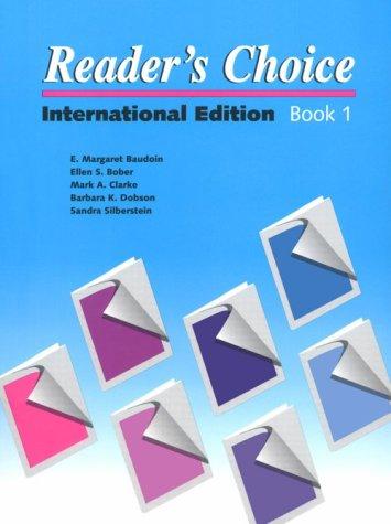Reader's Choice/Book 1: International Edition