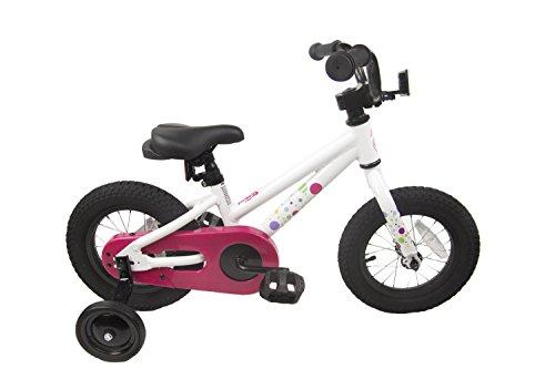 """Loco Kids Aluminum Bicycle Girls 12"""" White"""