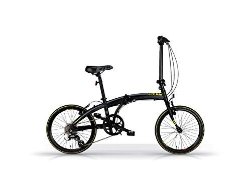 Bicyclette vélo pliant MBM SNAP 20' matt black
