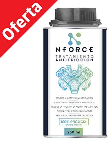 Tratamiento Antifriccion NFORCE para el Aceite de tu Coche, moto, camión, tractor, grupo electrógeno, etc