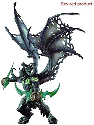 World of Warcraft Deluxe Figura: Illidan (Forma Demonio) Figura 11 75