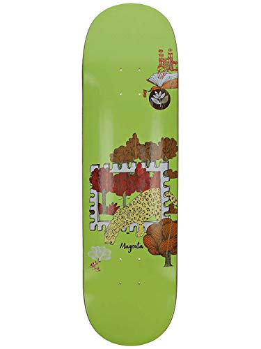 Magenta Skateboard Deck Infinite Loop Stamp 8.4