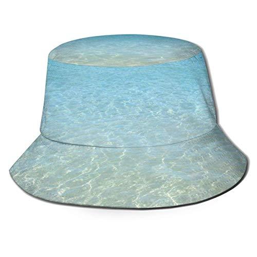 Yearinspace Sombrero de sol con diseño de flores hawaianas, transpirable, diseño de flores