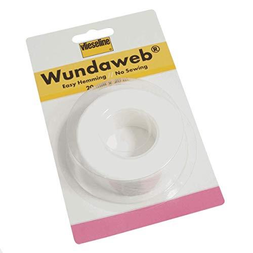 Vlieseline Wundaweb Wonderweb Saumband zum Aufbügeln, kein Nähen 20mm x 20m