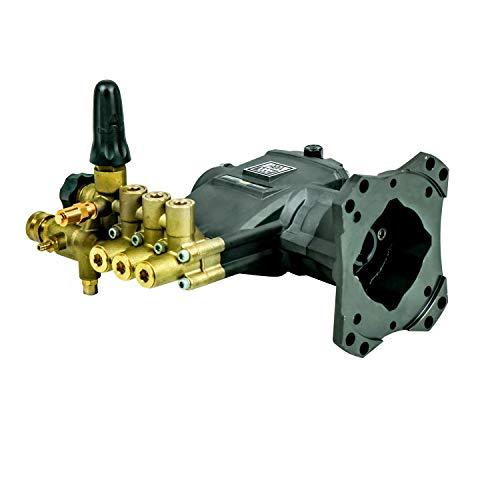 AAA Pumps 90038 AAA Technologies Triplex Kolbenpumpen-Set, 3800 PSI bei 3,5 GPM, blau/gold