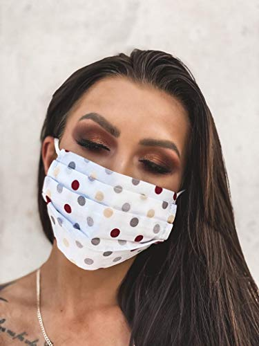 Gesichtsmaske, hautfreundlich, Unisex, Mundmaske, wiederverwendbar und waschbar, für Laufen, Radfahren, Outdoor-Aktivitäten