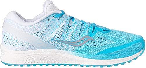 Saucony Women's Freedom Iso 2 Neutralschuh Damen - Hellblau, Blau Running Neutral Shoe, Blue Shade, 5.5 UK