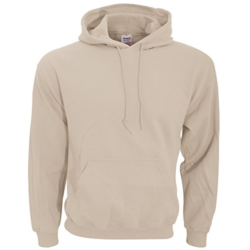 Gildan Herren Heavy Blend Hooded Sweatshirt 18500 Sand S