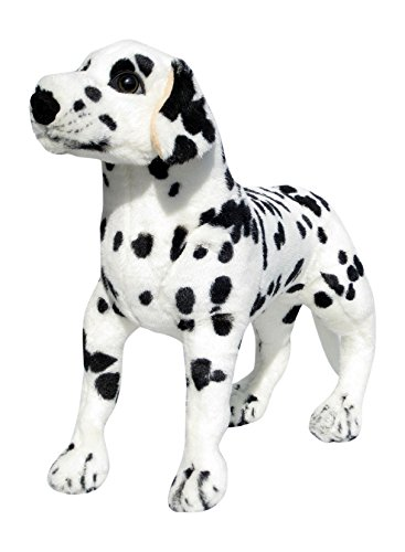 Wagner 1035 - Plüschtier Hund Dalmatiner - stehend - 60 cm