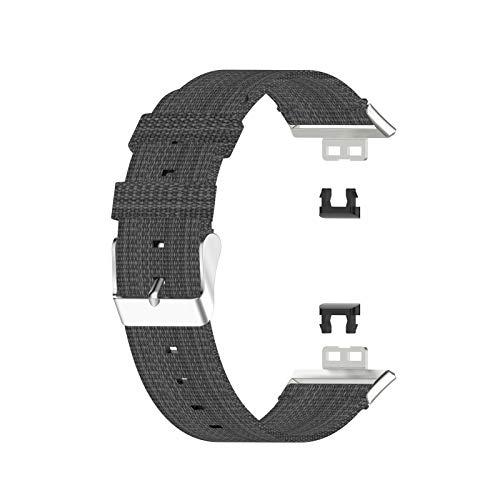 UFAVOR Correa de Reloj Compatible con Huawei Watch Fit Smart Watch Correa de Repuesto para La Muñeca Juego de Pulsera de Repuesto con Cierre para Mujeres O Hombres