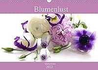 Blumenlust (Wandkalender 2022 DIN A3 quer): Strahlende Blumen und Blueten (Monatskalender, 14 Seiten )